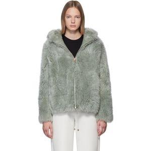 Yves Salomon shearling lamb jacket S(36) BNWT